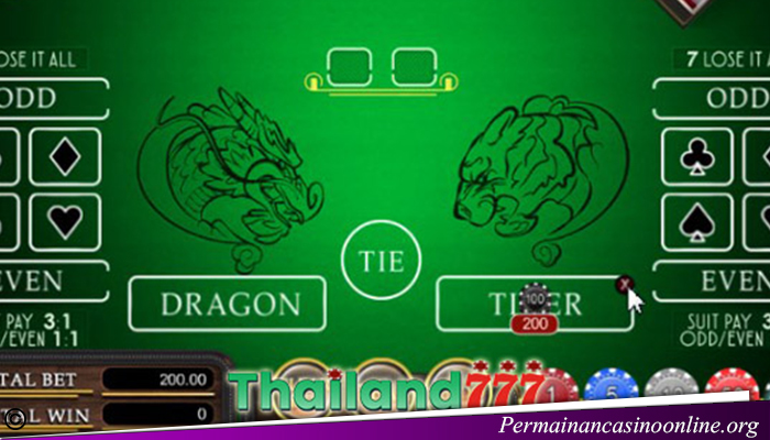 Trik Permainan Dragon Tiger Casino Online