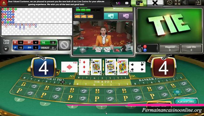 Trik Bermain Baccarat di Sbobet Casino