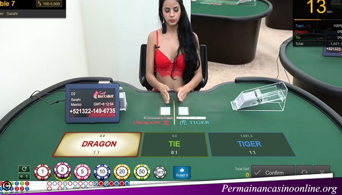 Taruhan Dragon Tiger Live Casino