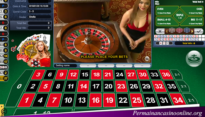 Taruhan Roulette Live Casino